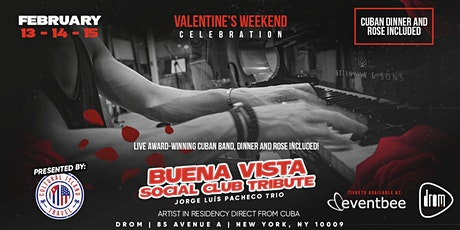 St. Valentine's Latin Jazz with Pacheco (Thursday Shows) tickets