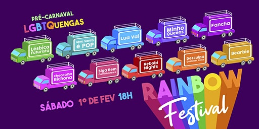 Rainbow Festival - Pré Carnaval LGBTQuengas