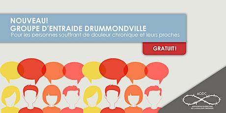 AQDC : Groupe d'entraide Drummondville - ANNULÉ billets