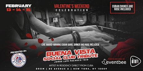 St. Valentine's Latin Jazz with Pacheco (Friday Shows) tickets