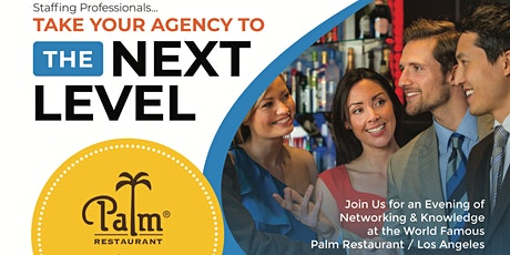 Staffing Professionals... The Next Level Meet Up tickets