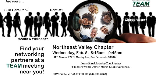 Northeast Valley Chapter - Invitation Day