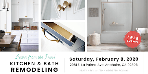 Learn From the Pros Kitchen and Bath Remodeling Event