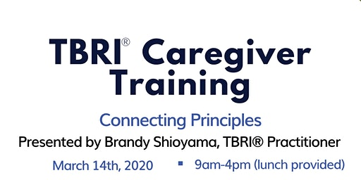 TBRI Caregiver Training Session 2