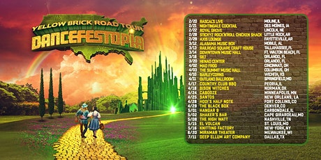 Dancefestopia: Yellow Brick Road Tour tickets