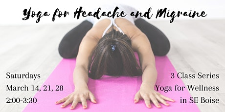 Yoga for Headache and Migraine Series tickets