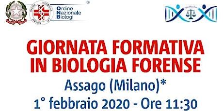Giornata formativa in Biologia Forense biglietti