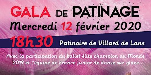 Gala de patinage à Villard de Lans