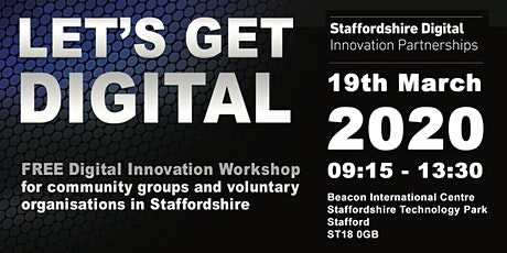 Let's Get Digital - FREE Digital Innovation Workshop tickets