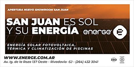 INAUGURACIÓN ENERGE SAN JUAN entradas