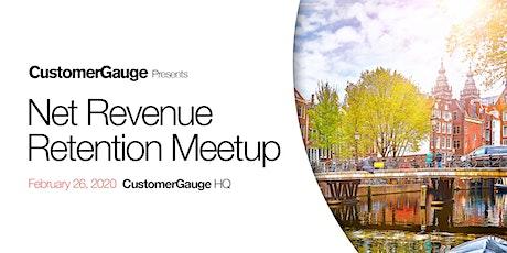 Net Revenue Retention Meetup for NL SaaS CxOs tickets