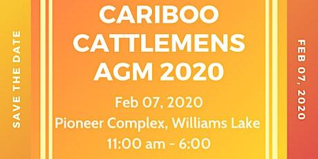Cariboo Cattlemens AGM 2020 tickets