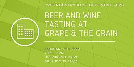CRE Beer & Wine Tasting 2020 tickets
