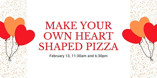 Make Your Own Heart Shaped Pizza