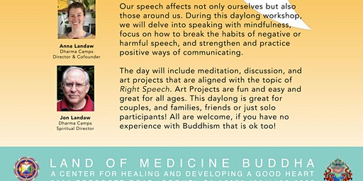 Right Speech: Taught Through Projects & Play! Practicing Buddhism on a Daily Basis