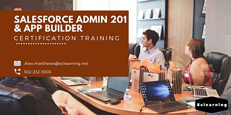 Salesforce Admin 201 and App Builder Certification Training in Atherton,CA tickets