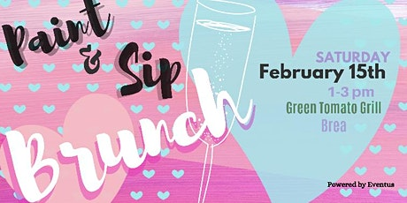 Brunch Paint and Sip tickets