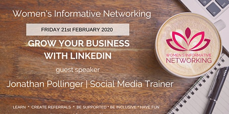 WIN NETWORKING  - BUILD YOUR BUSINESS WITH LINKEDIN tickets