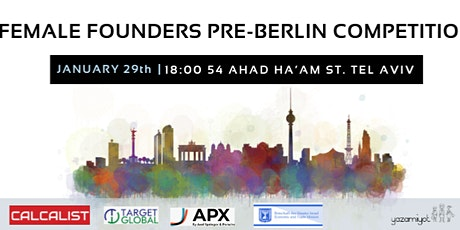 Yazamiyot // Berlin 2020 - Entrepreneurs Competition tickets
