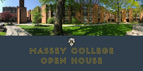 Massey College Open House tickets