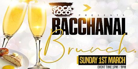 Soca Loco Presents Bacchanal Brunch tickets