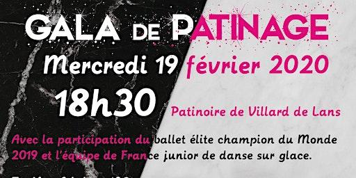 Gala de patinage à Villard de Lans - 19 février 2020
