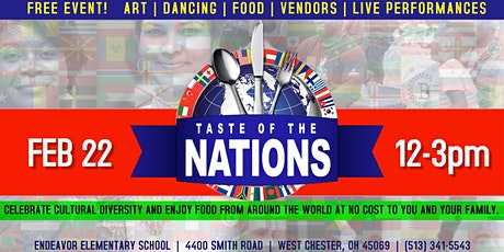 Taste of the Nations tickets