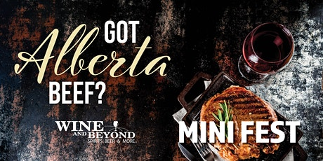 Got Alberta Beef? (Wine and Beyond Windermere) tickets