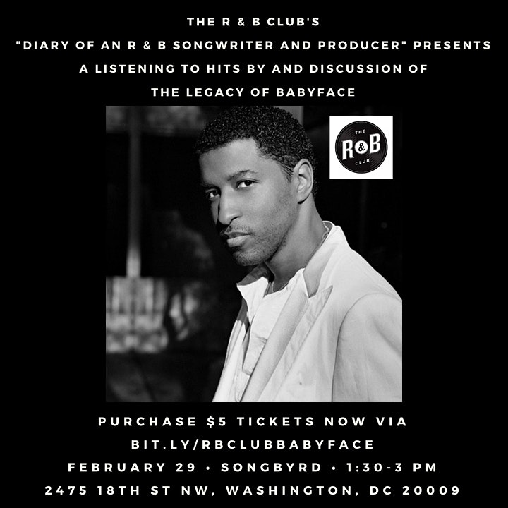 Diary of an R&B Songwriter/Producer: Babyface image
