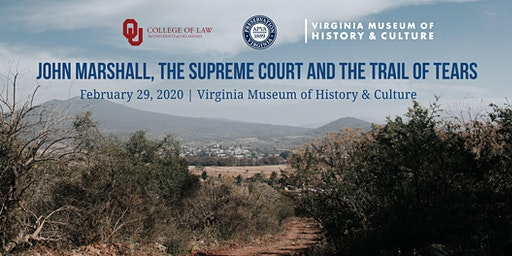 John Marshall, the Supreme Court and the Trail of Tears