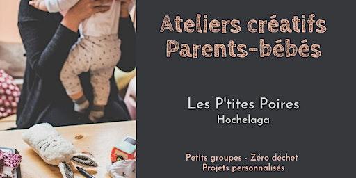 Atelier créatif parents-bébés - Les P'tites Poires