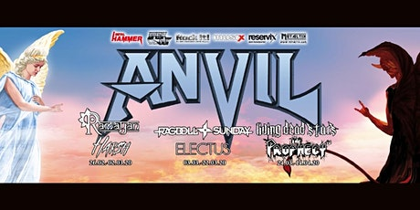 Anvil | The 1865 tickets