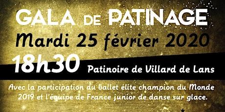 Gala de patinage à Villard de Lans - 25 février 2020 billets