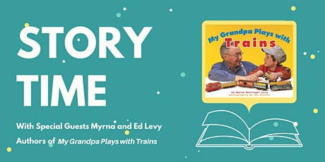 Story Time with Guest Authors Myrna and Ed Levy tickets