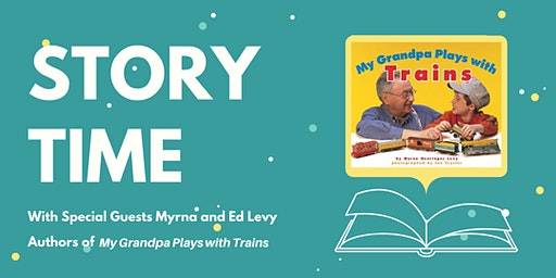 Story Time with Guest Authors Myrna and Ed Levy