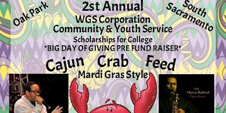 Cajun Crab Feed tickets