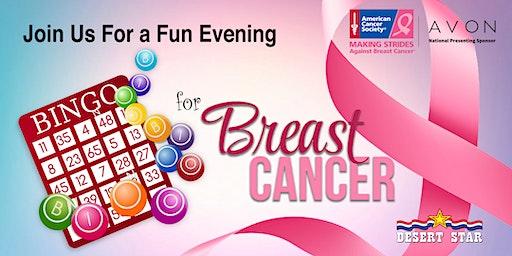 Bingo for Breast Cancer Event Vendor Signup