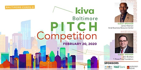 Kiva Baltimore Pitch Competition 2020 tickets