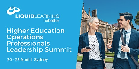 Higher Education Operations Professionals Leadership Summit tickets