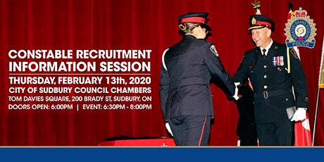 Constable Recruitment Information Session tickets