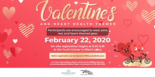 "Community Bike Ride ""Valentines themed"""