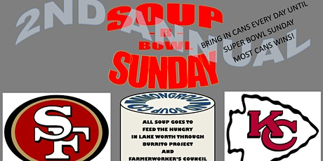 Soup R Bowl Sunday tickets
