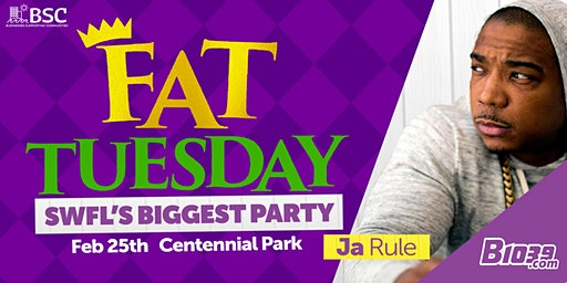 B1039 presents Fat Tuesday with Ja Rule