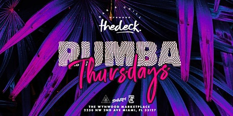 Rumba Thursdays at thedeck in The Wynwood Marketplace tickets