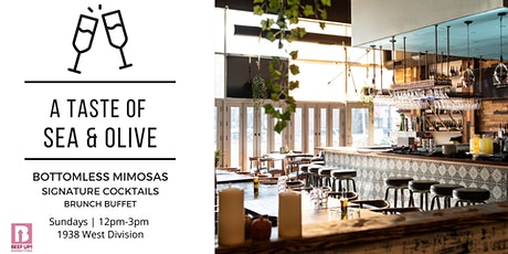 A Taste of Sea & Olive: Hosted Bar | Brunch Buffet tickets