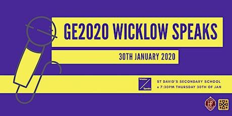 GE2020 Wicklow Speaks tickets