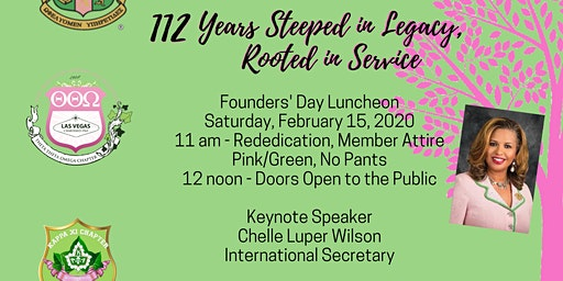 Alpha Kappa Alpha Sorority, Inc. Las Vegas Joint Founders' Day 2020