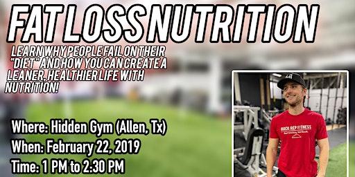 Fat Loss Nutrition w/ Coach Chris!