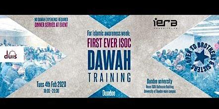 DAWAH Training - Islamic Awareness Week 2019/20