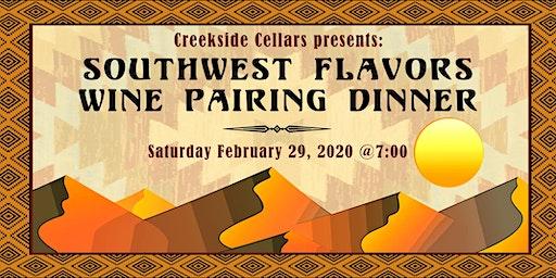 Southwest Flavors Wine Pairing Dinner